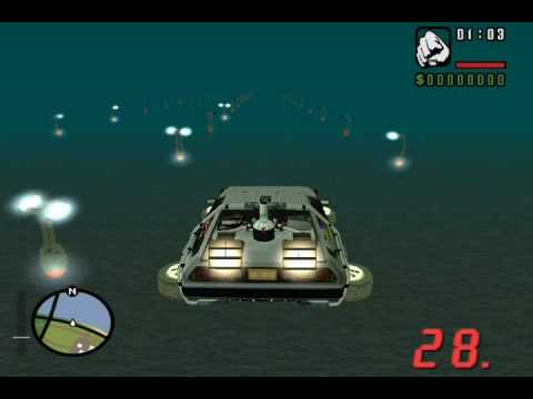GTA San Andreas BTTF 2 Skyway Test