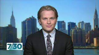 Ronan Farrow on his investigation into Harvey Weinstein | 7.30
