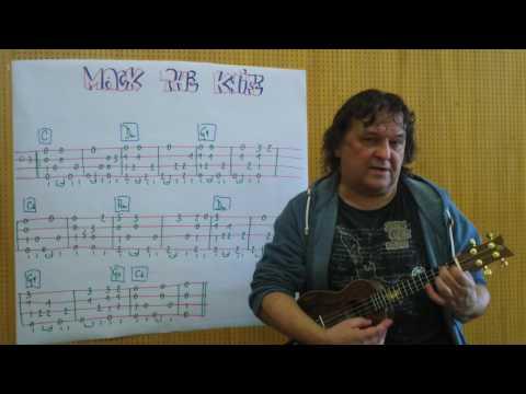 Fingerstyle UKULELE Lesson #112: MACK THE KNIFE/MACKIE MESSER (Bert Brecht/Kurt Weill)