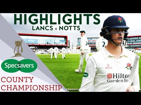 Crazy Finish To Old Trafford Opener: Lancs v Notts - County Championship 2018 Highlights