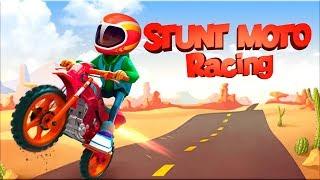 Stunt Moto Racing - Gameplay Android game - Moto Racing game