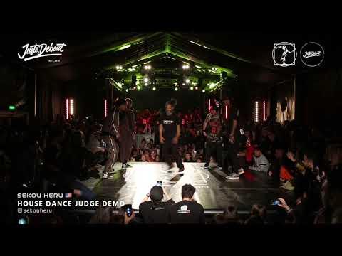 Sekou Heru - Judge demo Juste Debout Milan 2020