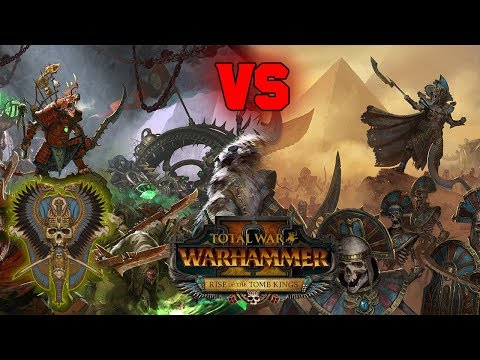 Tomb Kings vs. Skaven | Rise of the Tomb Kings Multiplayer Preview - Total War Warhammer 2