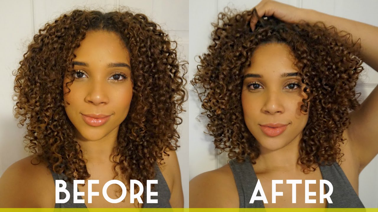 Curly Haircut Curl Tips from my