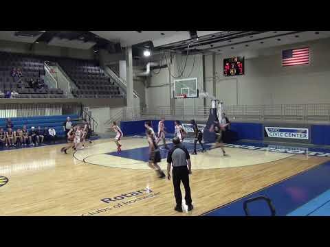 Luke Kottom Schaeffer Academy Sophomore Year Basketball Highlights