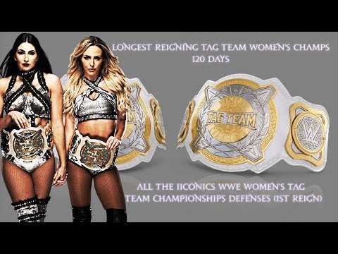 All The IIconics WWE Women's Tag Team Titles Defenses