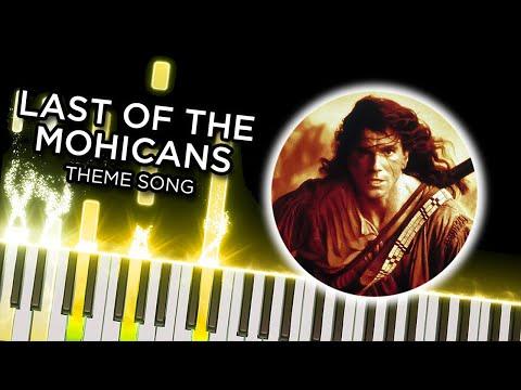 The Last of the Mohicans Theme (Trevor Jones) Midi file (.mid)