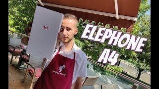 Elephone A4 Unboxing&Hands on! Pro version released! 2018