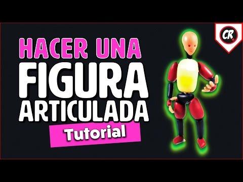 CÓMO HACER UNA FIGURA ARTICULADA | How to make a posable doll tutorial