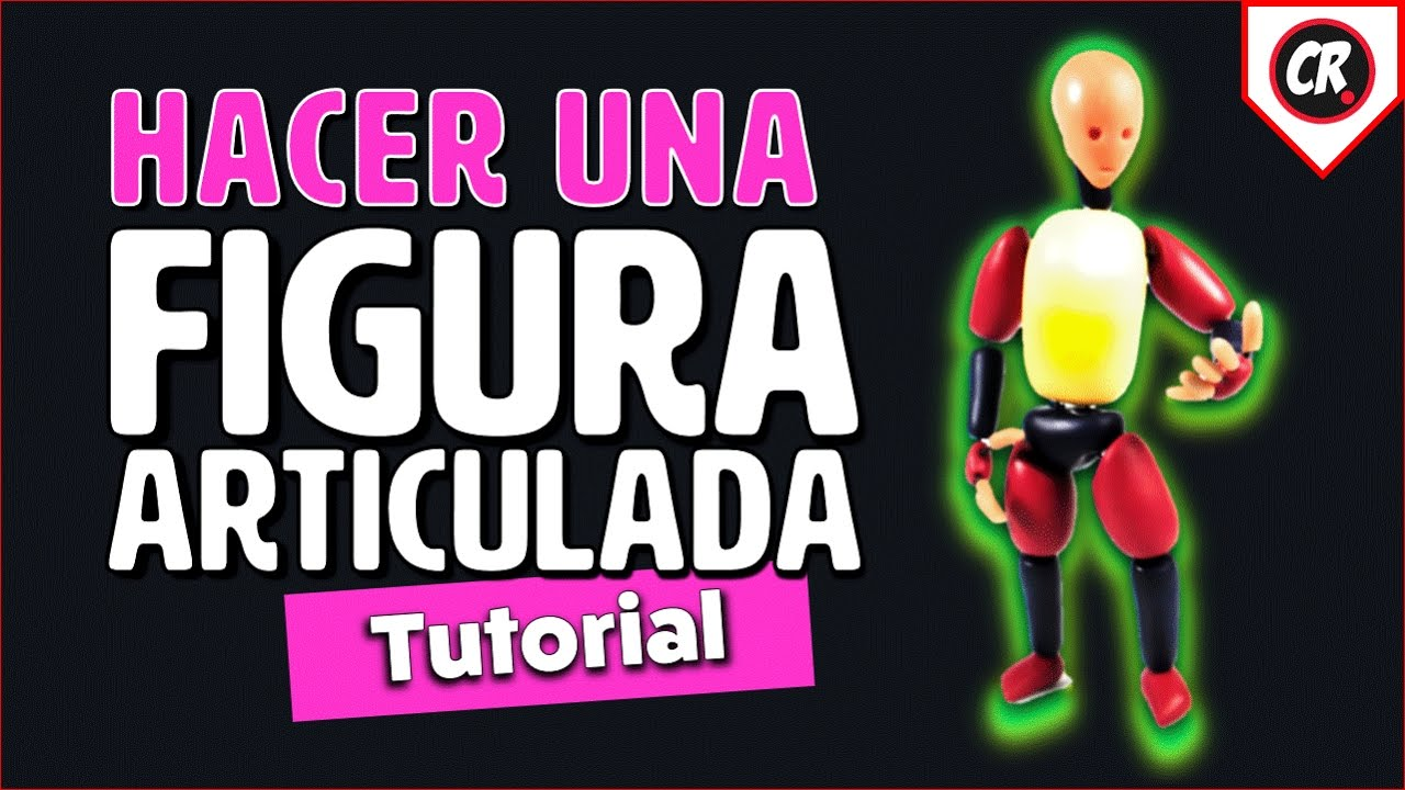Cómo Hacer Una Figura Articulada How To Make A Posable Doll Tutorial