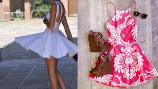 FASHION SPRING SUMMER 2017 2018 | TRENDS, COLORS | FASHION CLOTHES FOR WOMEN | DRESSES