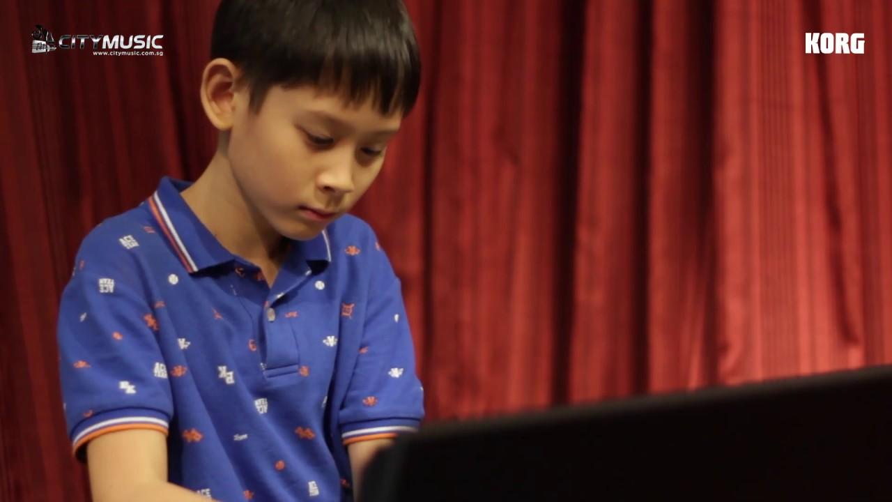 KORG Junior Piano Competition 2018 Singapore Winner - Titus Leong
