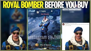 *NEW* Fortnite: LEAKED ROYAL BOMBER IN-GAME! | (3D Animated Look and More!)