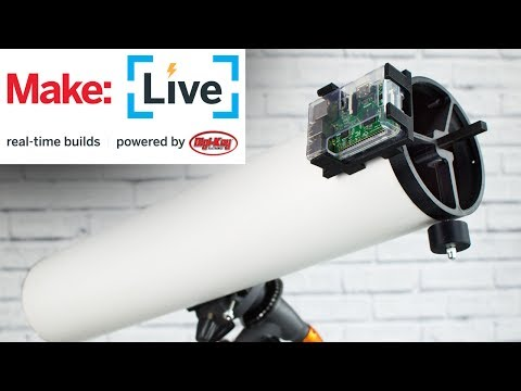 Make Live: PiKon Raspberry Pi Telescope