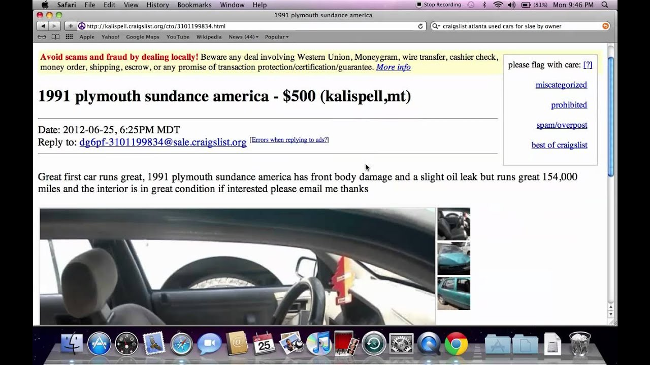 Craigslist kalispell used cars popular montana private by owner deals available youtube