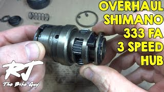 How To Overhaul Shimano 333 FA 3-Speed Hub