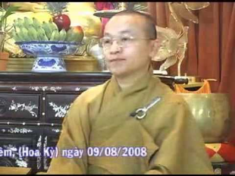Tự do trong đạo Phật A (09/08/2008) Thích Nhật Từ