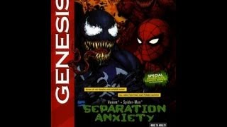 Spider-Man And Venom: Separation Anxiety (Sega Genesis)