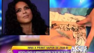 INNA interview Acces Direct, Antena 1 Romania