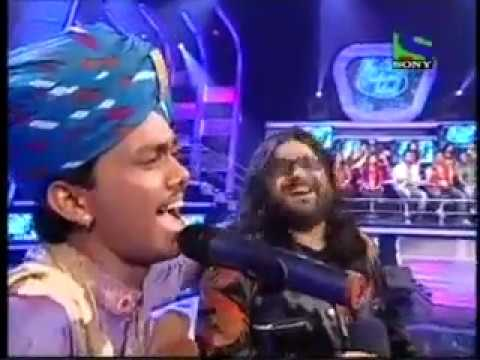 YouTube   INDIAN IDOL 5 SWAROOP KHAN JEE KARDA RAJASTHANI on PRITAM's DEMAND