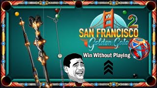 8 ball pool San Francisco 😃 Tournament Ring And Cue And 500K Coins