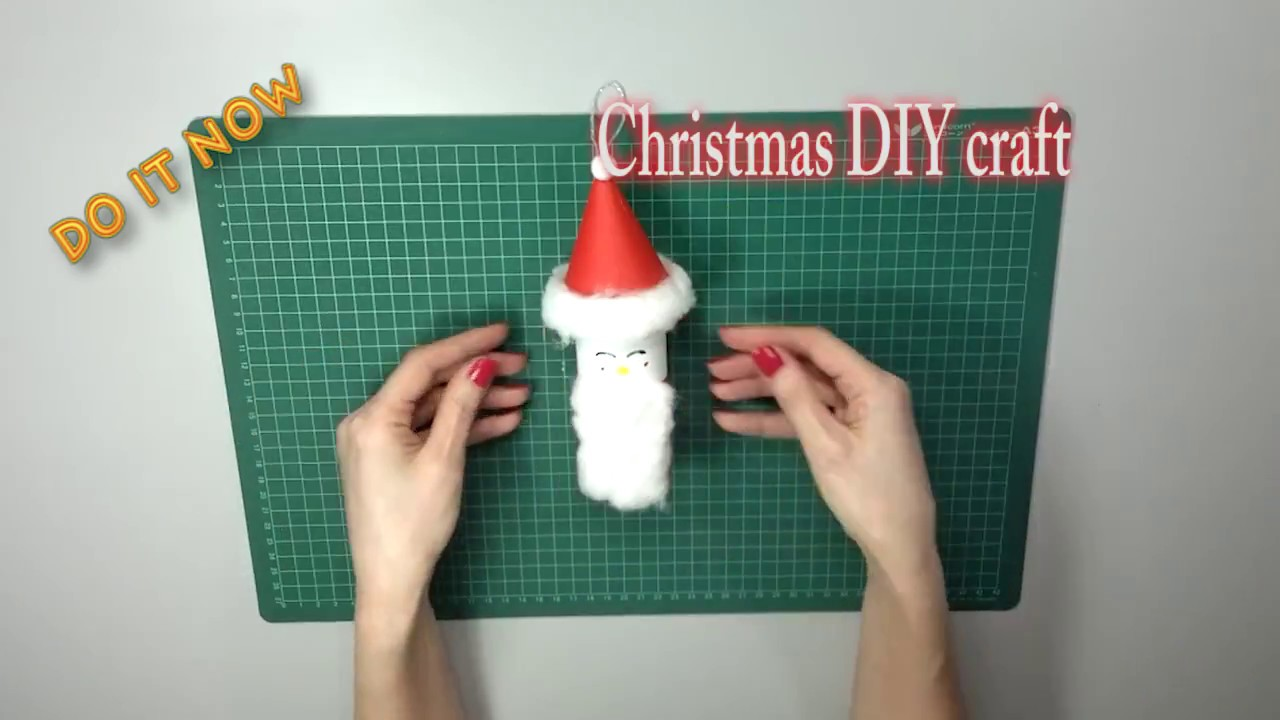 Diy santa claus toilet paper roll craft youtube diy santa claus toilet paper roll craft jeuxipadfo Image collections