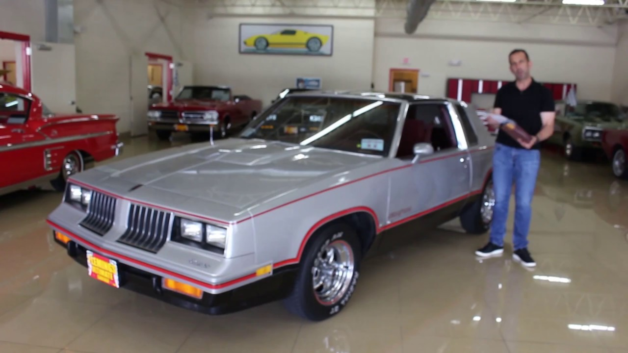 '84 Oldsmobile 442 Hurst for sale with test drive, driving sounds, and walk  through video