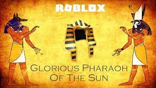 Roblox - Glorious Pharaoh Of The Sun (Promo Code)