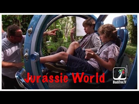 Nick Robinson and Ty Simpkins - Jurassic World