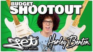 Cheap Strat Showdown - Harley Benton VS Jet Guitars