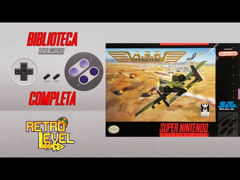 A.S.P. Air Strike Patrol - Biblioteca COMPLETA do Super Nintendo #9