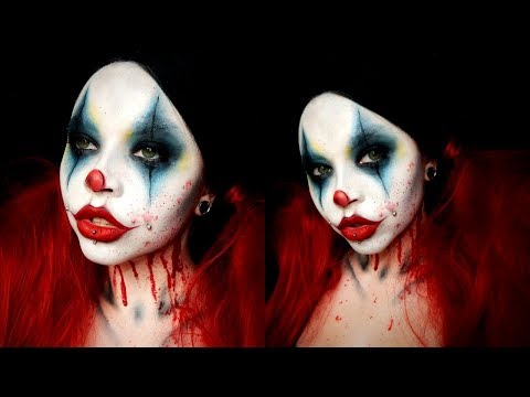 AMERICAN HORROR STORY Cult Clown Inspired Makeup