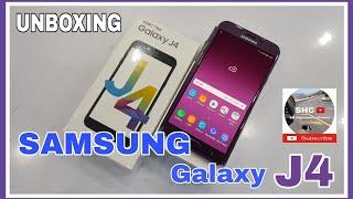 แกะกล่อง SAMSUNG Galaxy J4 ถูกใจชาวซัมซุง [ แบบบ้านๆ ]