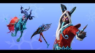 Fortnite new skins. Krampus,Reindeer Glider - Frozen Legends pack