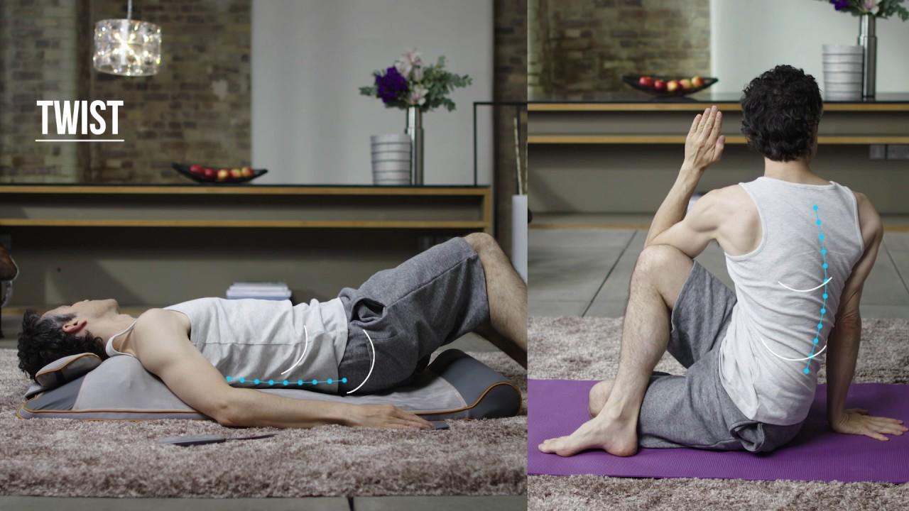 Homedics Stretch Yoga Ymm 1500h Youtube
