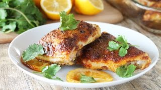 How to Make Moroccan Chicken Thighs