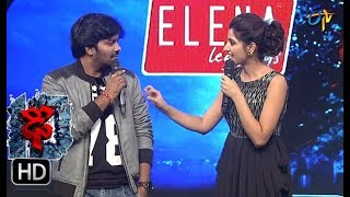 Varshni Funny Task | Dhee 10 | 13th September 2017| ETV Telugu