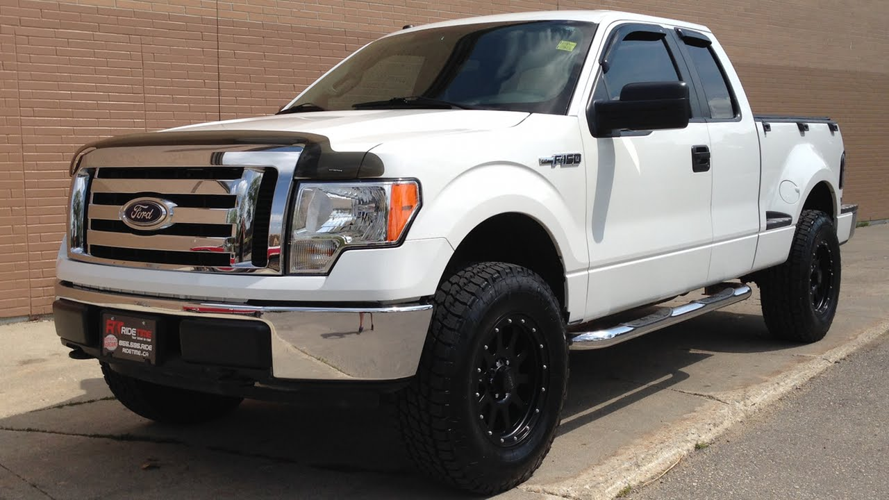 Lifted 2009 Ford F-150 XLT Flareside | Custom Trucks Winnipeg - YouTube