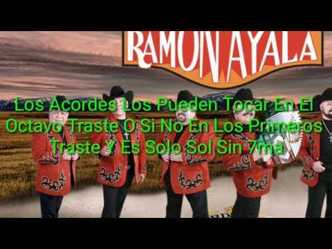 Tragos Amargos, Ramón Ayala, Letra Y Acordes, Tutoríal