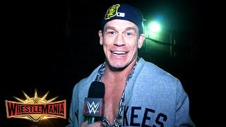 Why John Cena brought The Dr. of Thuganomics to WrestleMania: WWE Exclusive, April 7, 2019