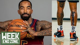 Should JR Smith Be FORCED To Cover Tattoos By The NBA? | Weekend Zone
