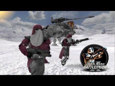 Star Wars Battlefront II Mod - DEV's Side Mod - Galactic Marines - Hoth