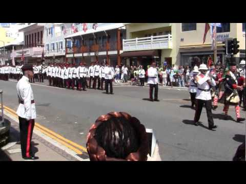 Queens Birthday Parade March Off June 9 2012