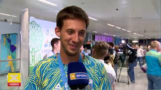Возвращение сборной Украины по легкой атлетике с Европейских игр-2019