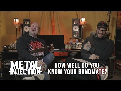 "FIT FOR AN AUTOPSY ""How Well Do You Know Your Bandmate?"" 