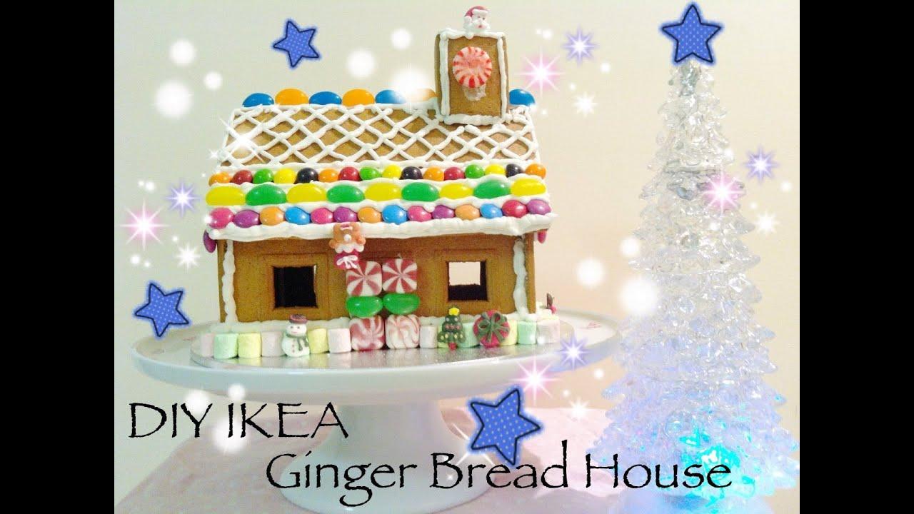 Diy Ikea Ginger Bread House