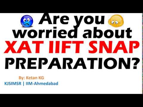 How CAT helps to get prepared for XAT IIFT & SNAP