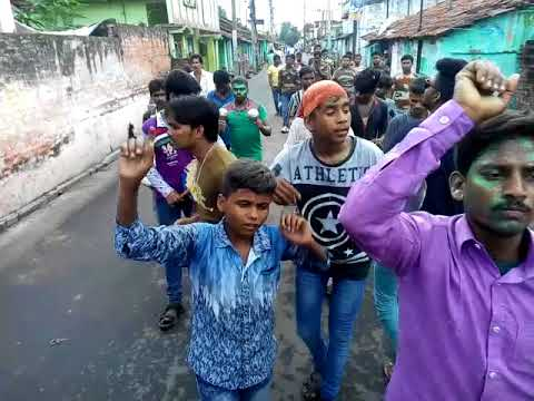 Bansberia Babu Jagjivan Ram Club Ganesh Visharjan 2017