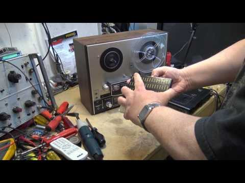 Akai 4000 Reel to Reel repair. DEoxIT to the rescue!