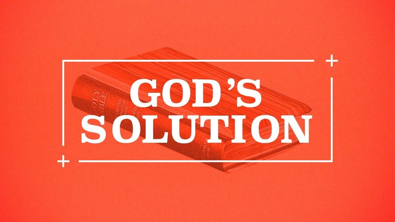 Image result for gods solution